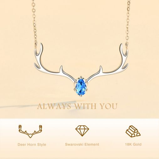 ALWAYS WITH YOU 18K GOLD NECKLACE