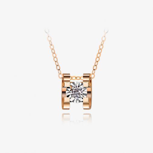 18K Ngau Tau Gold Necklace