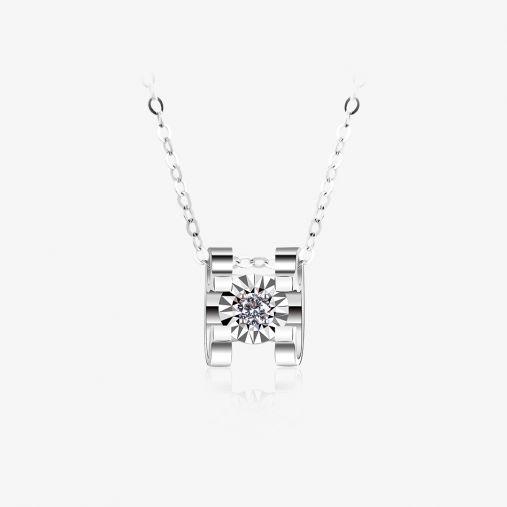 18K Ngau Tau Platinum Necklace