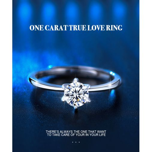 ONE CARAT TRUE LOVE RING