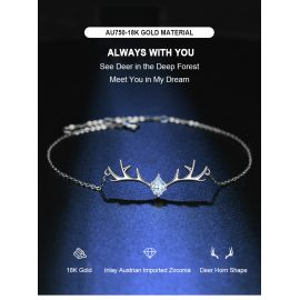 ALWAYS WITH YOU 18K GOLD BRACELET