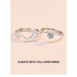 ALWAYS WITH YOU LOVER RINGS