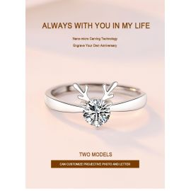ALWAYS WITH YOU LITTLE DEER RING