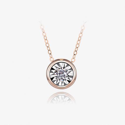 18K Bubble Gold Necklace